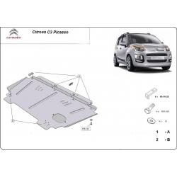 Citroen C3 Motorschutz - Stahl