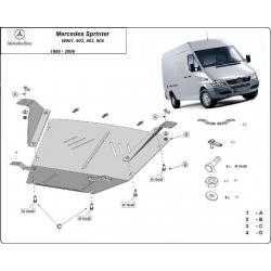 Mercedes Sprinter Motorschutz - Stahl