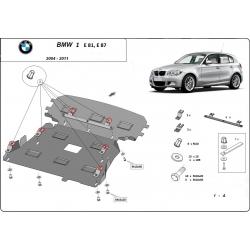 BMW e81 Motorschutz - Stahl