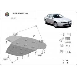 Alfa Romeo 159 Motorschutz - Stahl