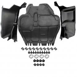 Skoda OCTAVIA Motorschutz - diesel KOMPLET - Plast (1J0825237M)