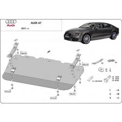Audi A7 Unterfahrschutz - Stahl
