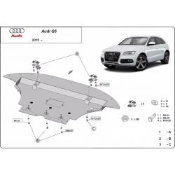 Audi Q5 Unterfahrschutz - Stahl