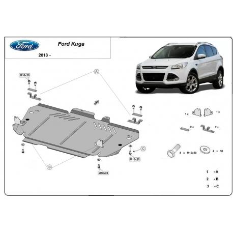 Ford Kuga Unterfahrschutz - Stahl