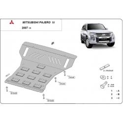 Mitsubishi Pajero 4 Unterfahrschutz 3.8, 3.2 Di-D - Stahl